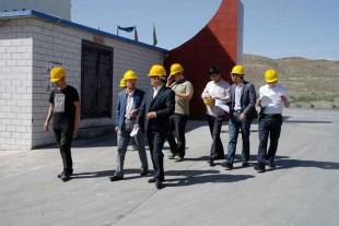 白银市组织部检查小组莅临金龙公司做指导工作
