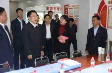 省委常委、省委组织部部长李元平来我公司调研指导工作