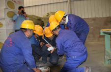 金龙建材、诺克保温建材、金亿达建材开展安全应急演练