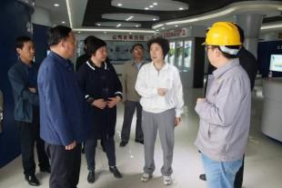 白银市委书记苏君来我公司调研指导企业经济运行